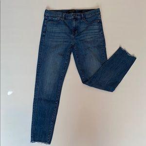 Banana Republic stonewashed jeans skinny stretch